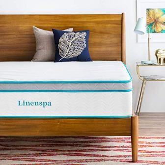 LINENSPA 12 Inch Gel Memory Foam Hybrid Mattress