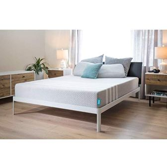 "Leesa Universal Adaptive Feel Memory Foam Cooling 10"" Mattress, King (Top Pick)"