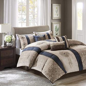 Madison Park Donovan 7 Pieces King Comforter Set
