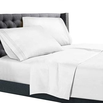 Nestl Bedding 1800 Deep Pocket Bed Sheet Set