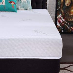 Oliver Smith Natural Organic Cooling Gel Ventilated Luxury Mattress