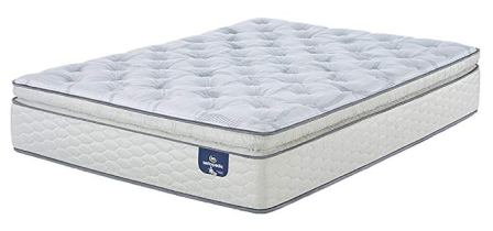 Sertapedic Super PillowTop 300 Innerspring Mattress, Queen – TOP PICK