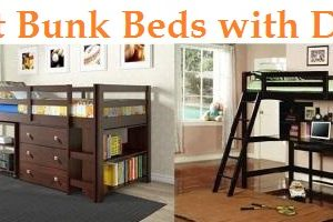 Top 15 Best Bunk Beds with Desk in 2019 – Complete Guide