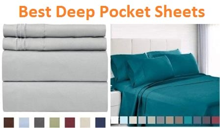 Top 15 Best Deep Pocket Sheets In 2019