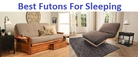 Top 15 Best Futons For Sleeping in 2019