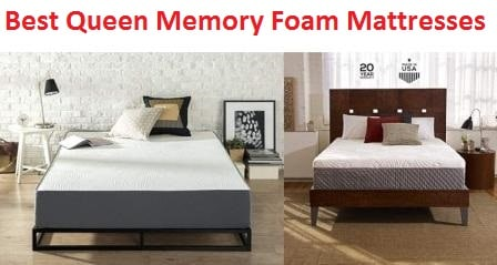 Top 15 Best Queen Memory Foam Mattresses in 2019