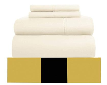 Urban Hut Egyptian Cotton Sheets Set – (4 Piece) 800 Thread Count
