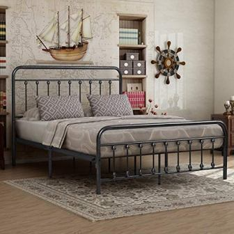 Victorian Metal Bed Frame from Elegant Home Products