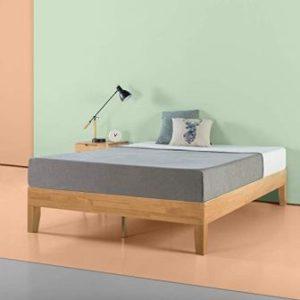 Zinus Moiz 14 Inch Deluxe Wood Platform Bed