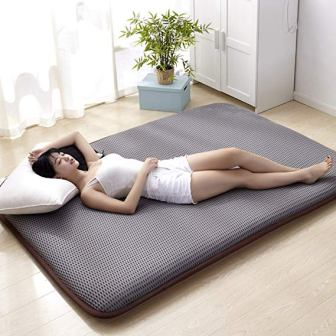 hxxxy Tatami Floor mat, Traditional Japanese futon Japanese Bed