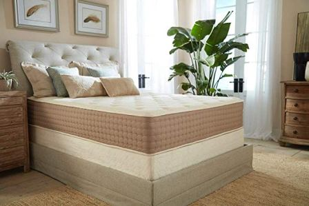 11 Inch Full Natural Latex Hybrid Mattress from Eco Terra