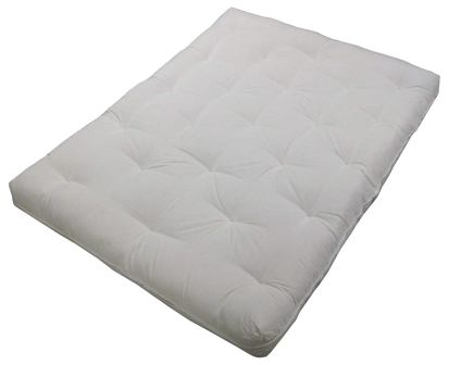 "Au Natural 8"" Loft All Cotton Filled Futon Mattress, King-size from Epic Furnishings"