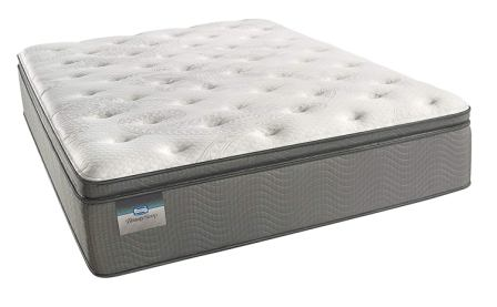 BeautySleep Plush Pillow Top 450, Innerspring Mattress from Simmons