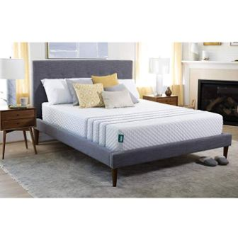 Leesa Hybrid Mattress, Luxury Hybrid 11″ Mattress in a Box, CertiPUR-US Certified 3 Layer Spring/Memory Foam Construction
