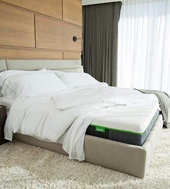 Luxury Bamboo Mattress, Advanced Side-Wedge Support Signature Bamboo Comfort Foam from Cariloha