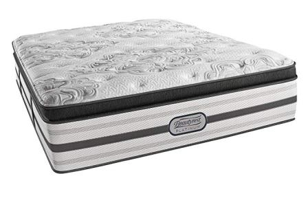 Platinum Luxury Firm Pillow Top Montego Innerspring Mattress from Beautyrest