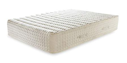 PlushBeds 12″ Luxury Bliss Hybrid Natural Latex Mattress with Encased Coils – Queen