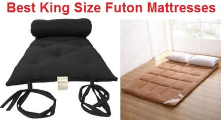 size 40 de988 33a5d Top 8 Best King Size Futon Mattresses in 2019