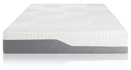 Voila Box Luxury Hybrid Coil-Spring Latex Mattress, Gel-infused Memory Foam + Coils + Latex + Triple Edge Support(12″ Plush, King)
