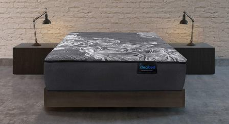 iDealBed Luxe Series iQ5 Hybrid Luxury Firm Mattress, Smart Adapt Hybrid Coil & Foam System
