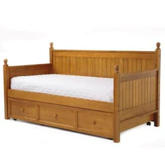 Casey II Wood Daybed and Roll Out Trundle Drawer