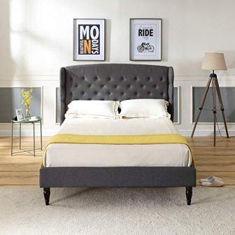 Classic Brands DeCoro Brighton Upholstered Platform Bed