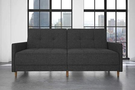 DHP Andora Coil Futon Sofa Bed Couch