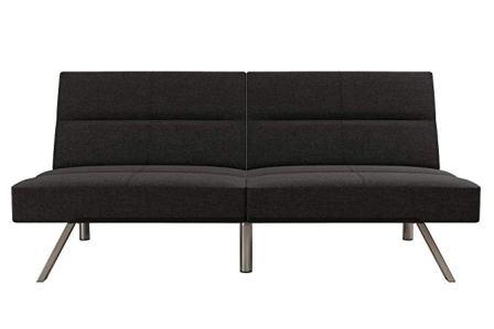 DHP Chelsea Convertible Splitback Futon Couch