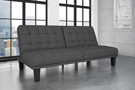 DHP Dexter Futon and Recliner Lounger
