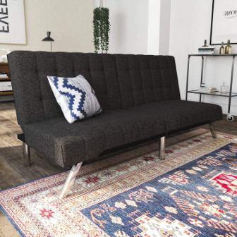 DHP Emily Futon Sofa Bed
