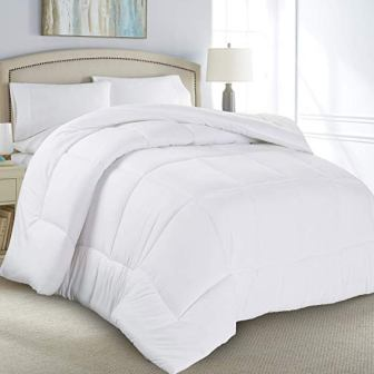 Danjor Linens Luxury Soft All Season White Down Alternative Comforter