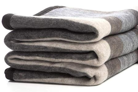 Desert Breeze Distributing Alpaca and Sheep Wool Blanket