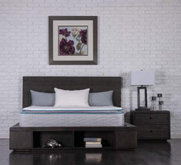 Dreamfoam Bedding Ultimate Dreams Pocketed Coil Ultra Plush Pillow Top Mattress