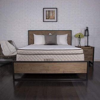 Dreamfoam Bedding Willow 12″ Eurotop Latex Mattress