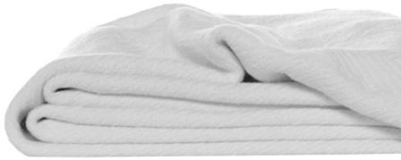 Eddie Bauer 200614 Herringbone Cotton Blanket