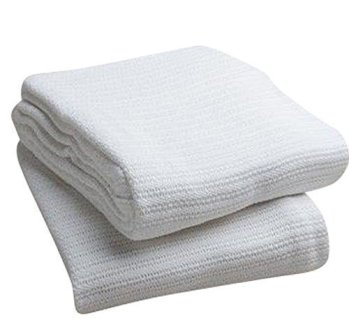 Elivo 100% Cotton Thermal Blanket