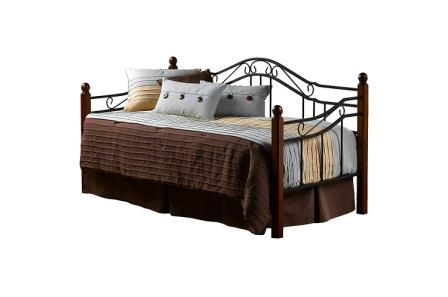 Hillsdale Furniture 1010DBLHTR Madison Daybed with Pull Out Trundle