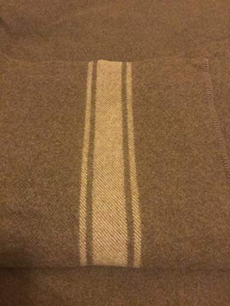 Italian Wool Blanket from the Swiss link