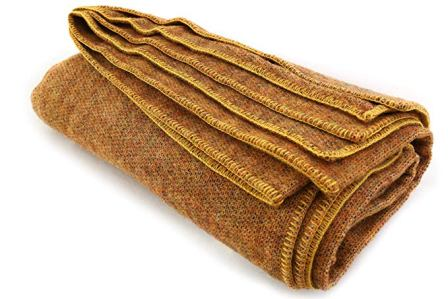 Kerry Woollen Mills Irish Wool Blanket