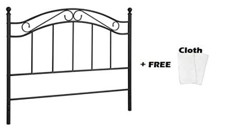Mainstays Bed Headboard Full or Queen (Black)