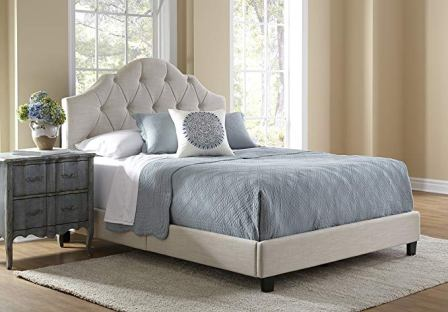 Pulaski Mason All-in-1 Fully Upholstery Tuft Saddle Bed