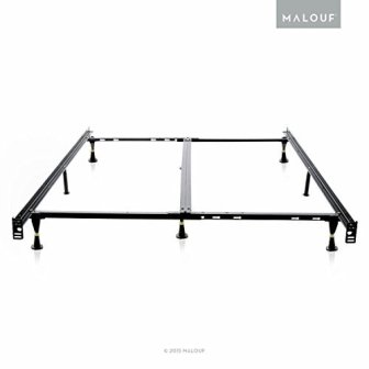 STRUCTURES Low Profile 8-Leg Metal Bed Frame