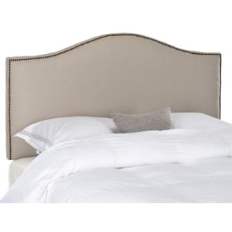 Safavieh Connie Camelback Upholstered Headboard