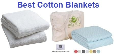 Top 15 Best Cotton Blankets in 2019