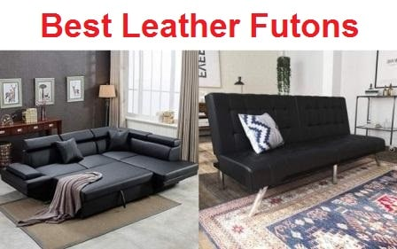 Top 15 Best Leather Futons In 2020
