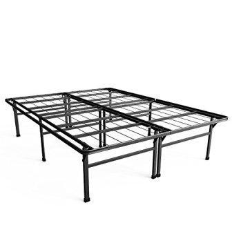 VELO Premium Bed Frame, Metal Platform Mattress Foundation