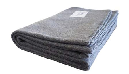 Woolly Mammoth Woolen Co. Merino Wool Camp Blanket