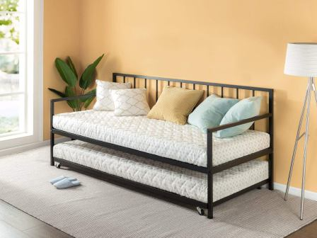 Zinus Eden Twin Daybed and Trundle Set