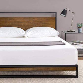 Top 15 Best Bed Frames For Memory Foam Mattresses In 2019
