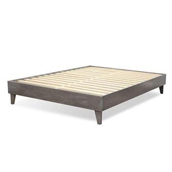 eLuxurySupply Wood Bed Frame